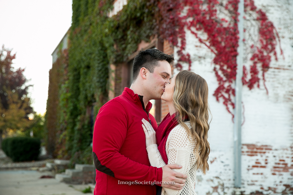 Andrea + Trevor: Omaha Fall Engagement