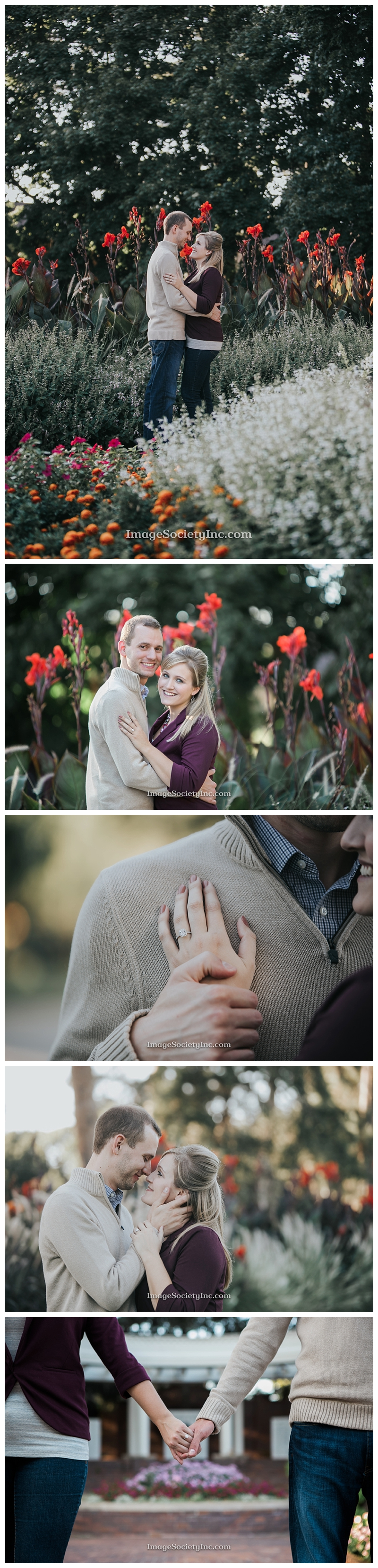 Midtown Omaha Fall Engagement Session