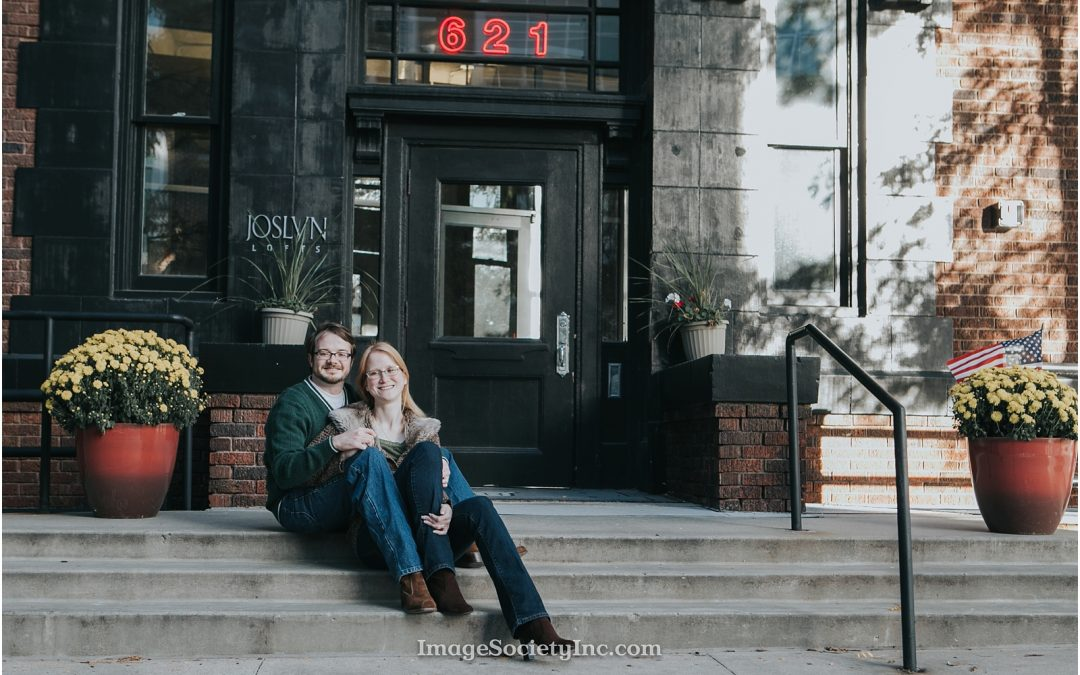 Omaha Fall Engagement: Brandy & Derek