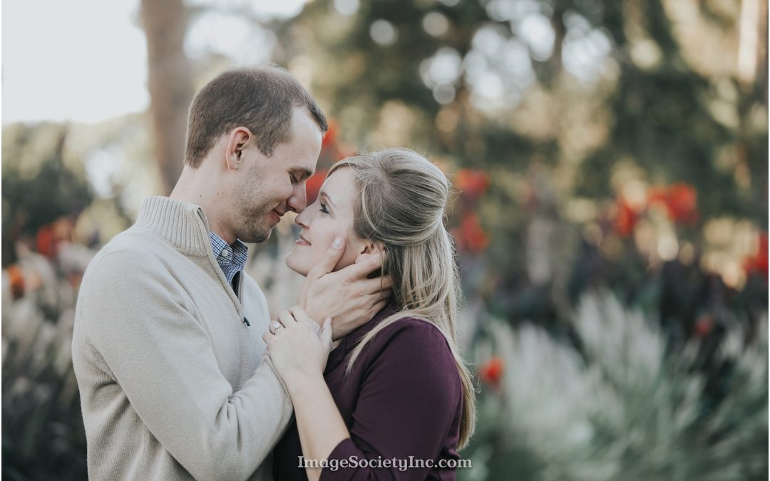 Midtown Omaha Fall Engagement: Nicole & Chris