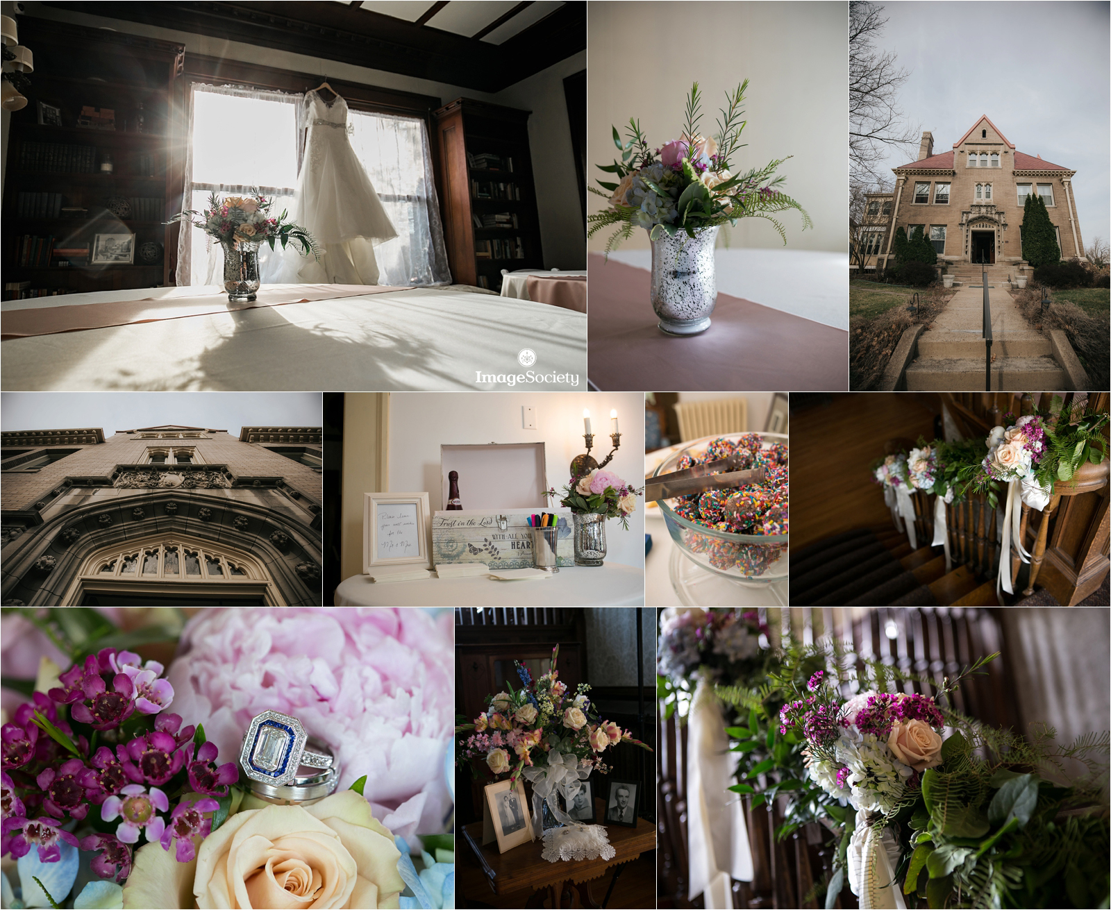 Cornerstone Mansion Wedding