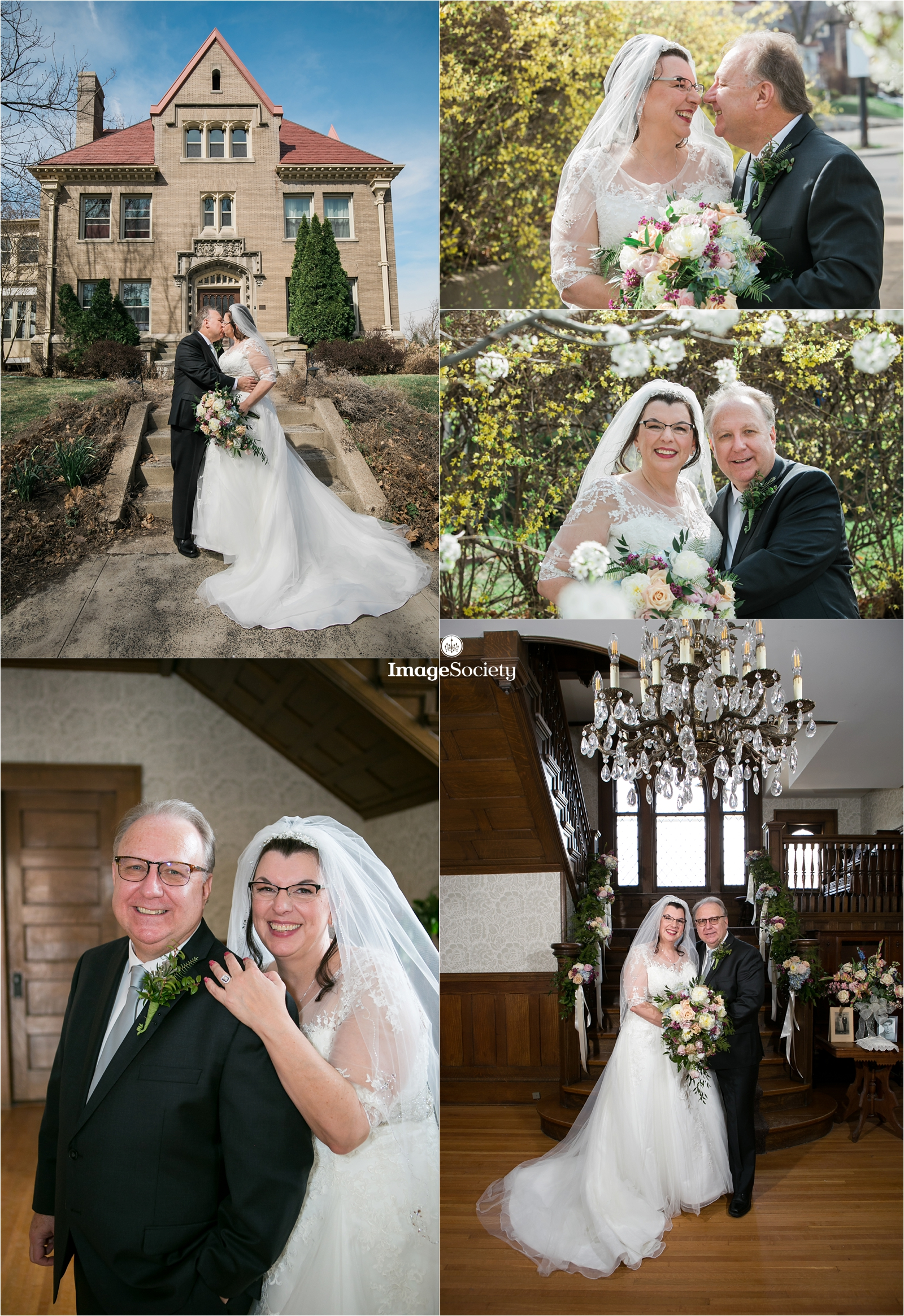 Spring Cornerstone Mansion Wedding