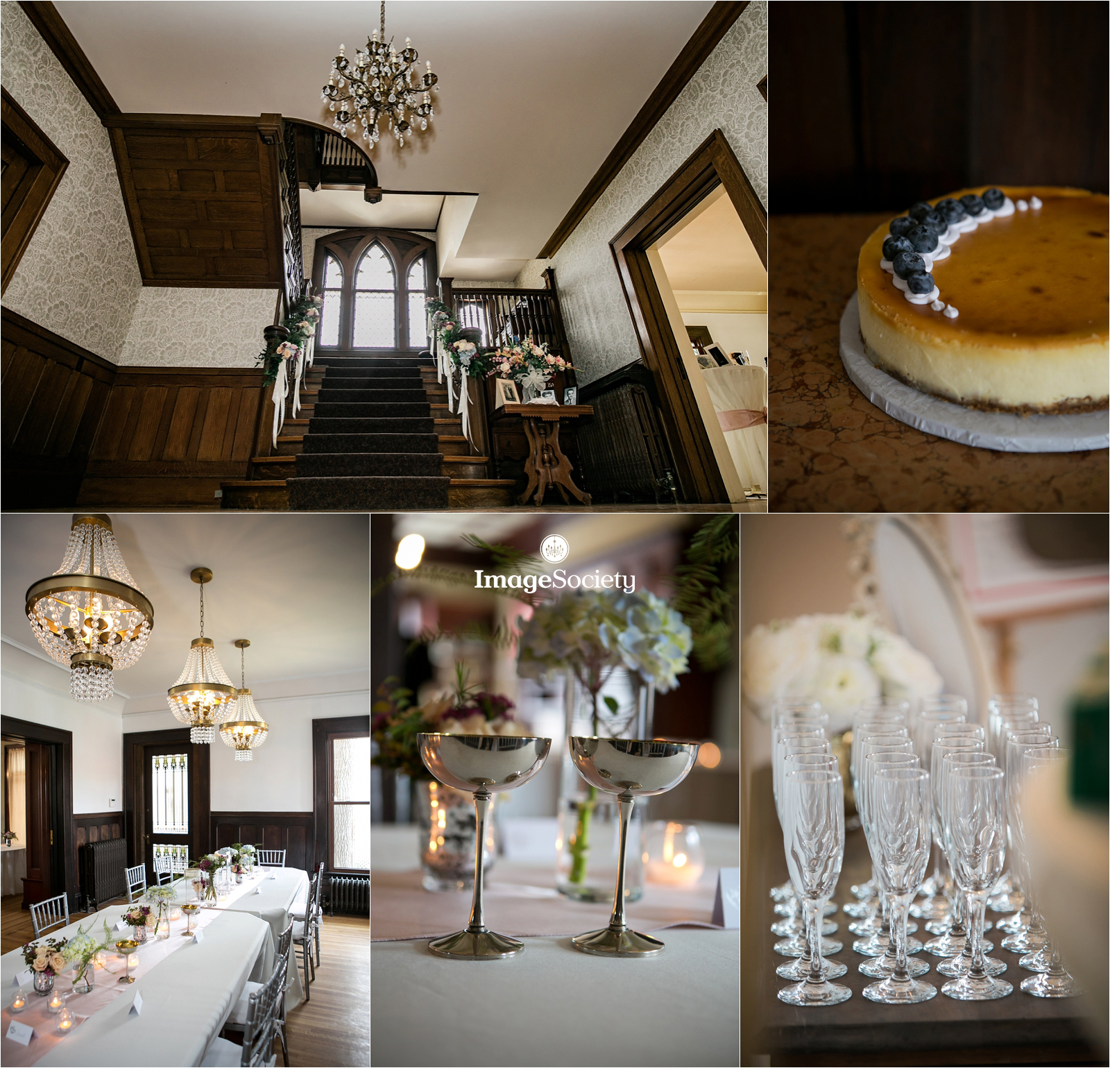 April Cornerstone Mansion Wedding